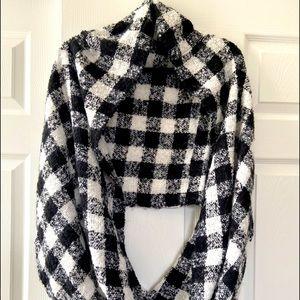 Infinity blanket scarf